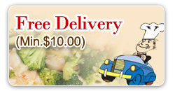 Free Delivery(Min. $10)